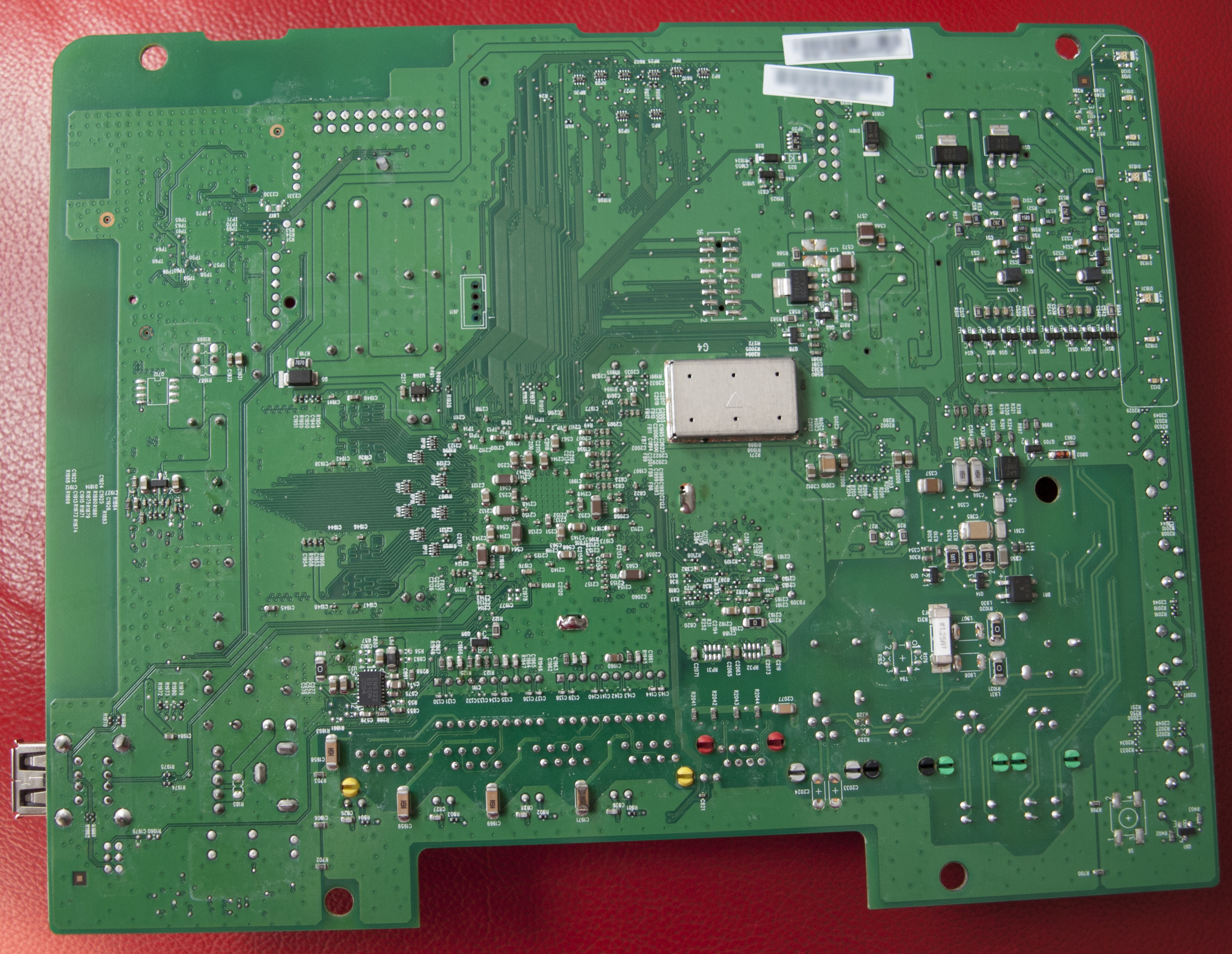 Back of the TG789vn board