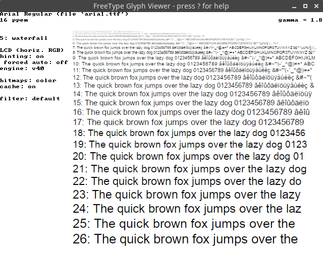 The sad state of font rendering on Linux   Infosec scribbles